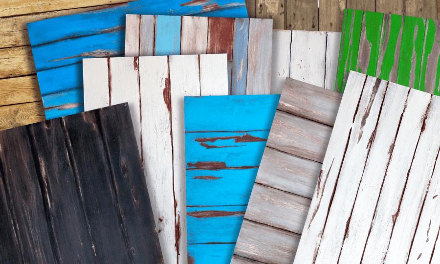 sfondi fotografici in vero legno