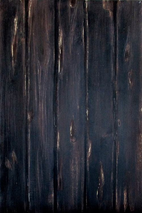 wood surface background brown cake top of view