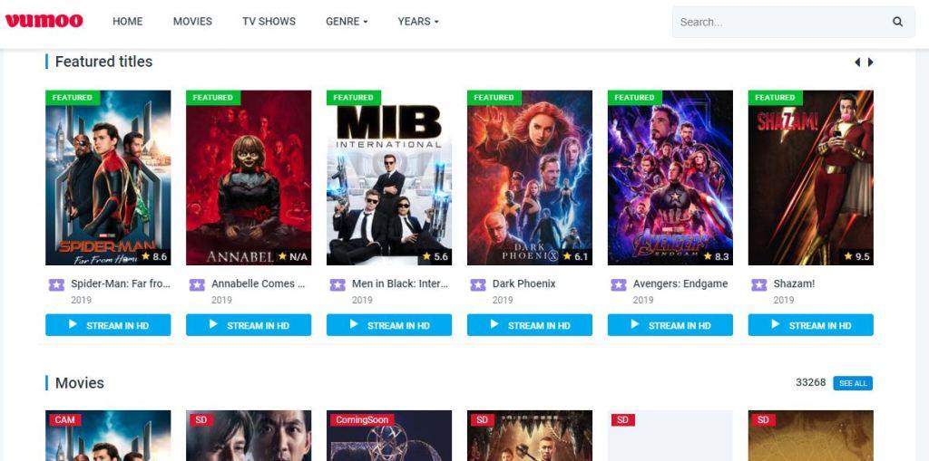 Vumoo - Watch Free Movies Online & TV Series Free