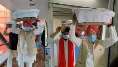 काबुल से गुरु ग्रंथ साहिब के 3 सरूप दिल्ली लाए गए, देखें वीडियो