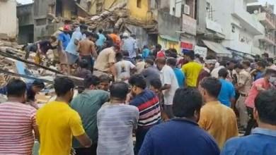 building collapse in delhi image