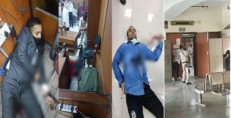 Rohini Court Shootout Case
