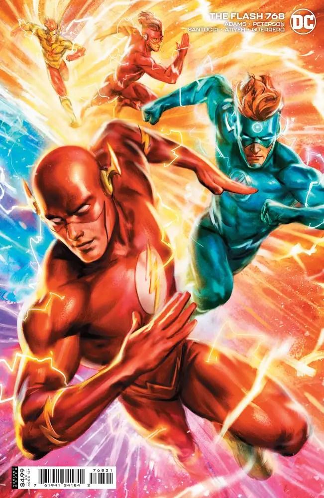 0121DC037 ComicList: DC Comics New Releases for 03/31/2021