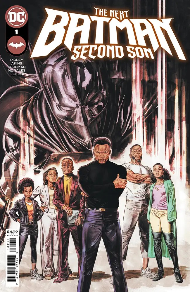 0221DC012 ComicList: DC Comics New Releases for 04/07/2021