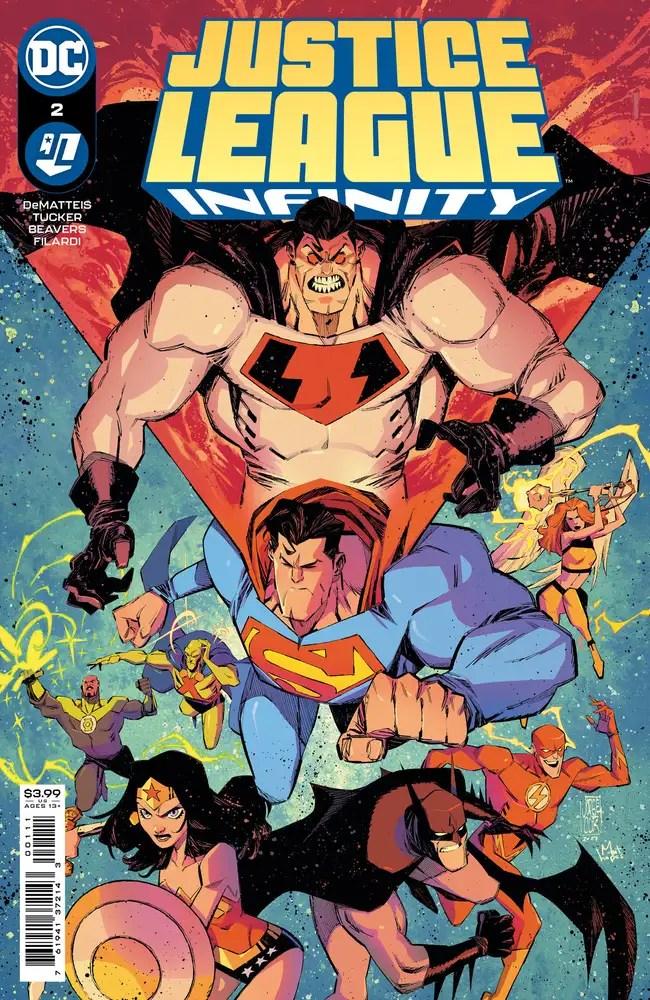 0621DC126 ComicList: DC Comics New Releases for 08/04/2021