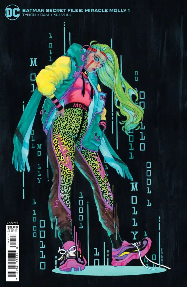 0721DC014 ComicList: DC Comics New Releases for 09/22/2021