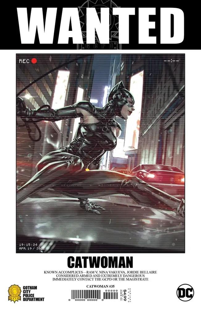 0721DC018 ComicList: DC Comics New Releases for 09/22/2021