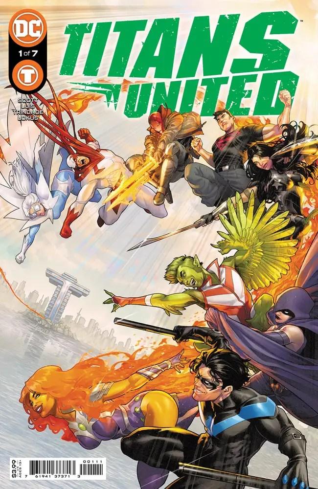 0721DC057 ComicList: DC Comics New Releases for 09/15/2021