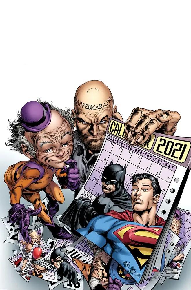 0721DC075 ComicList: DC Comics New Releases for 09/29/2021