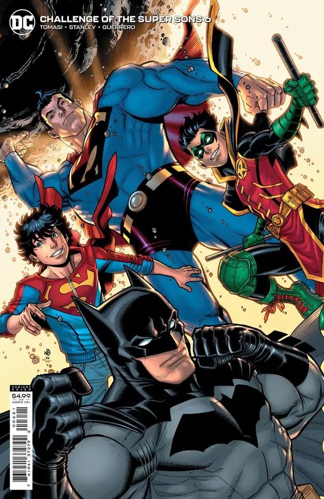0721DC079 ComicList: DC Comics New Releases for 09/15/2021