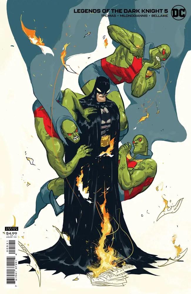 0721DC103 ComicList: DC Comics New Releases for 09/29/2021