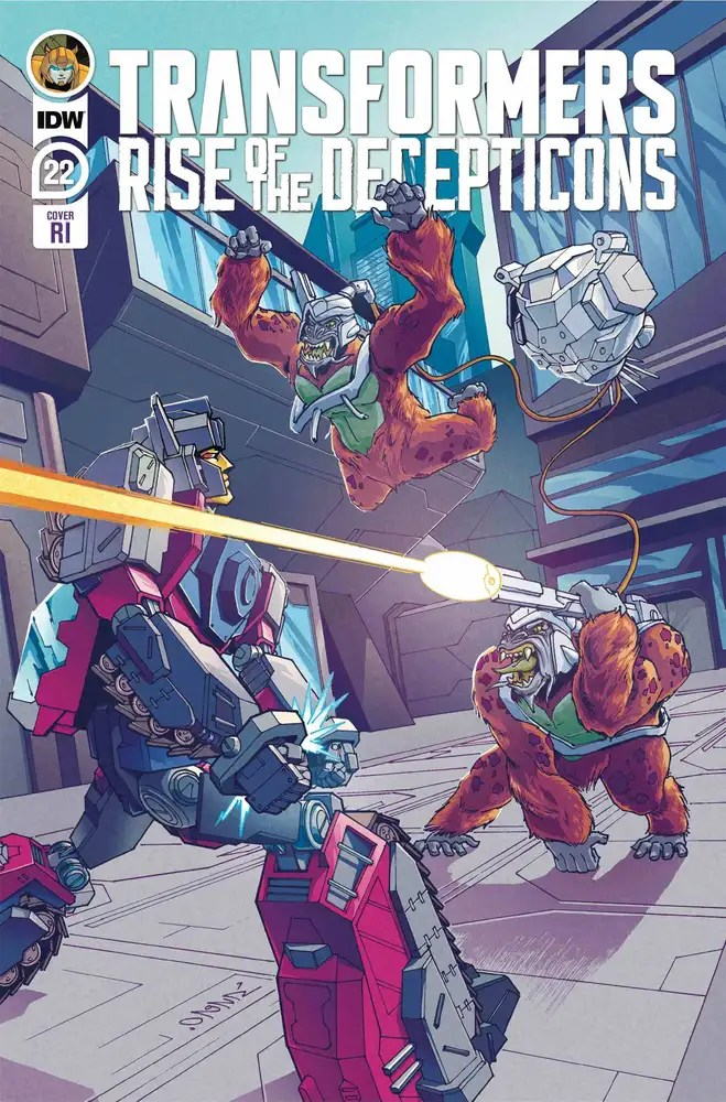 APR200730 ComicList: IDW Publishing New Releases for 08/19/2020