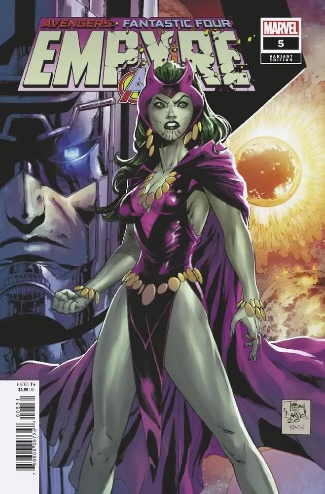 APR200854 ComicList: Marvel Comics New Releases for 08/12/2020
