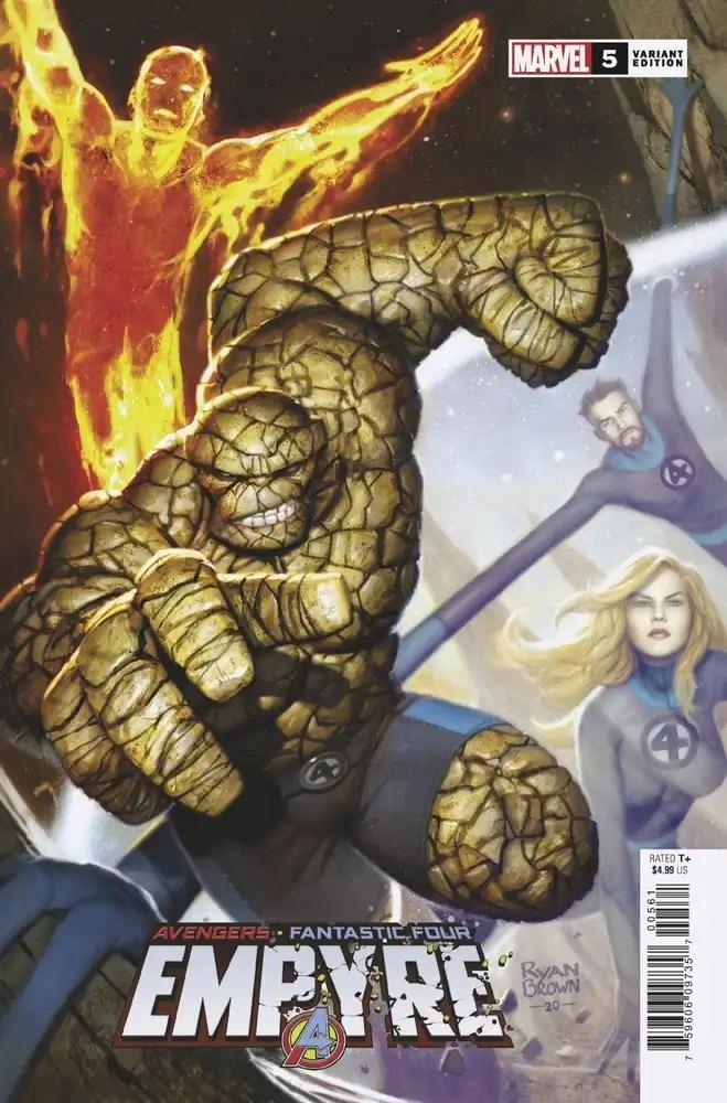 APR200856 ComicList: Marvel Comics New Releases for 08/12/2020