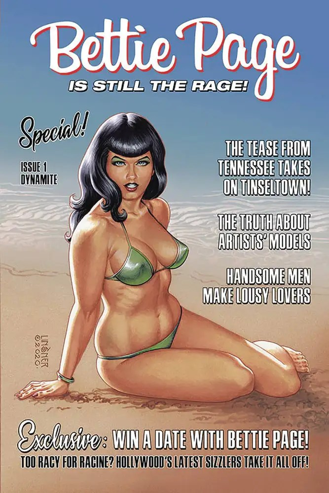 APR201128 ComicList: Dynamite Entertainment New Releases for 07/15/2020