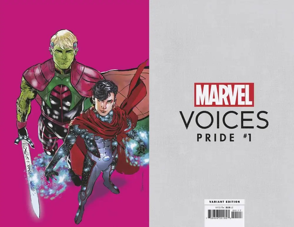 APR210817 ComicList: Marvel Comics New Releases for 06/23/2021