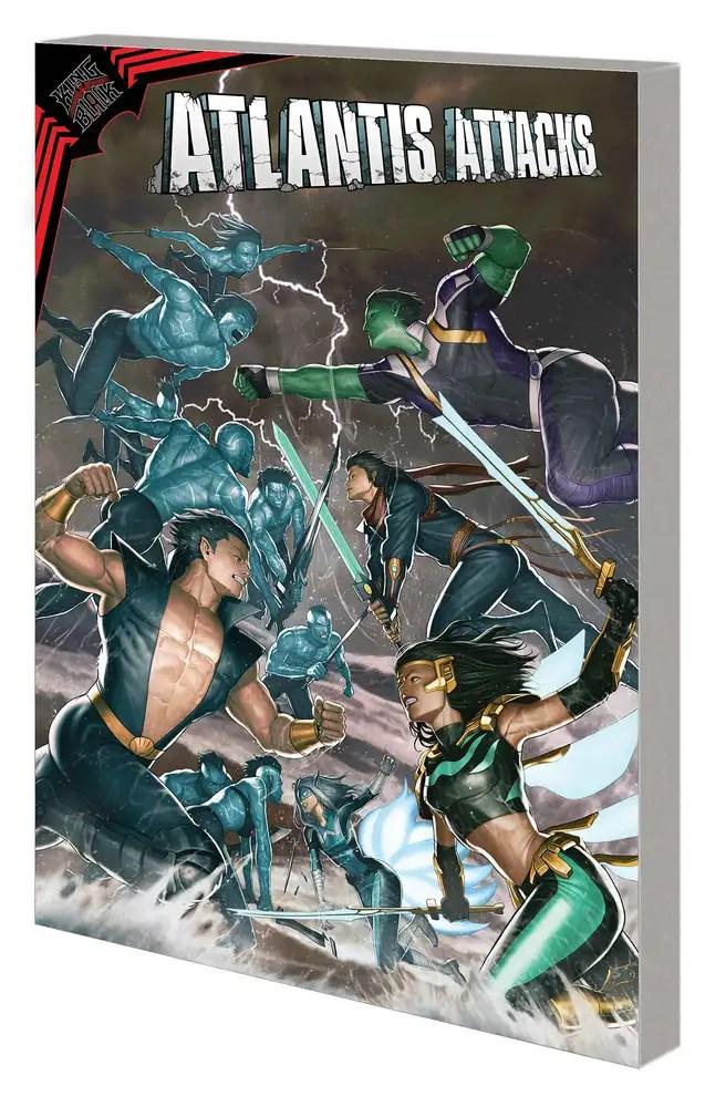 APR210984 ComicList: Marvel Comics New Releases for 07/21/2021