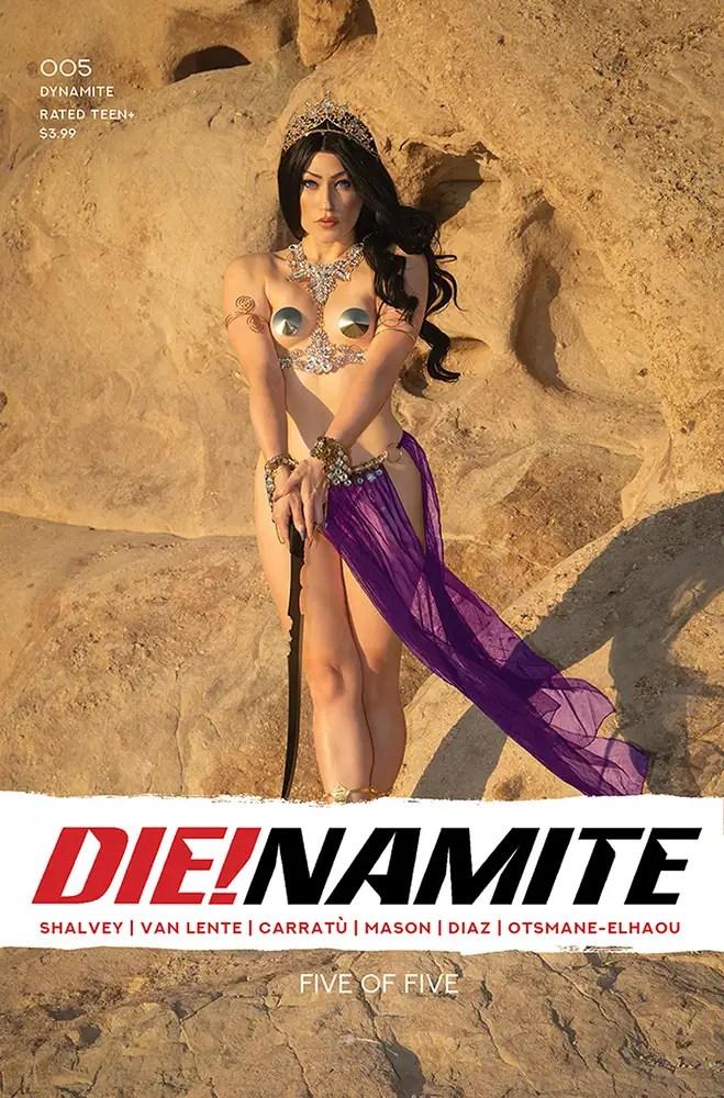 DEC200854 ComicList: Dynamite Entertainment New Releases for 02/17/2021