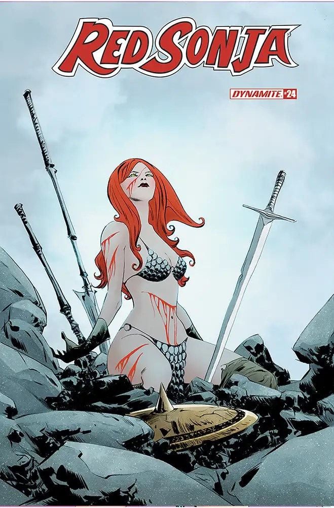 DEC200890 ComicList: Dynamite Entertainment New Releases for 02/24/2021