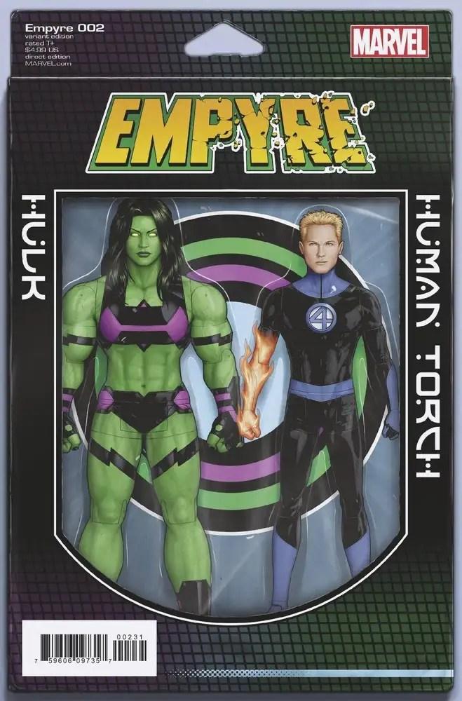 FEB200771 ComicList: Marvel Comics New Releases for 07/22/2020