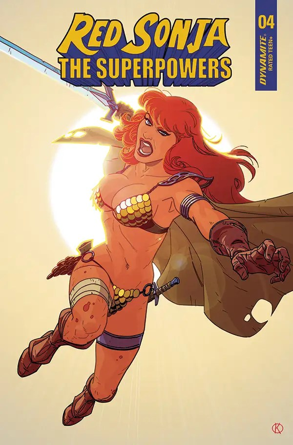 FEB210762 ComicList: Dynamite Entertainment New Releases for 04/14/2021