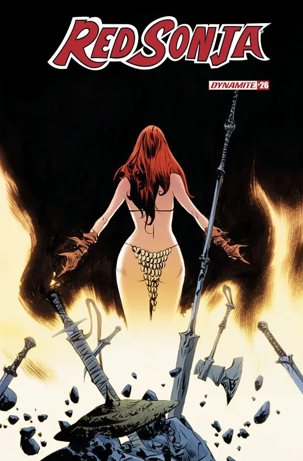 FEB210803 ComicList: Dynamite Entertainment New Releases for 04/21/2021