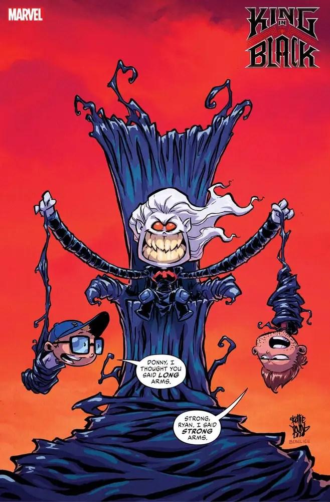 JAN210525 ComicList: Marvel Comics New Releases for 04/07/2021