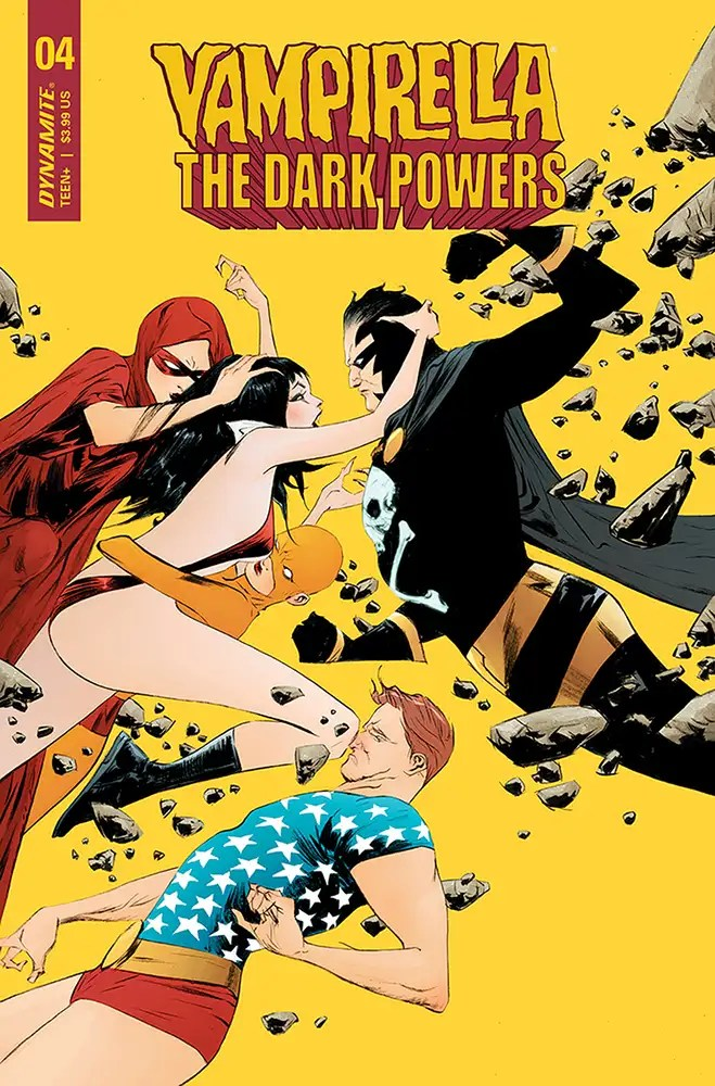 JAN210879 ComicList: Dynamite Entertainment New Releases for 03/17/2021