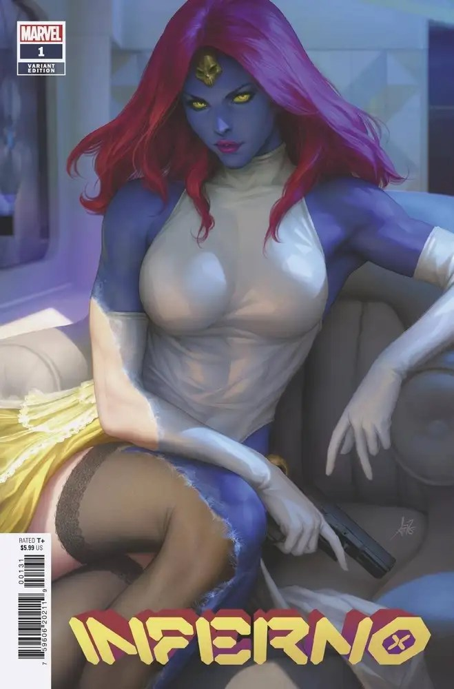 JUL210521 ComicList: Marvel Comics New Releases for 09/29/2021