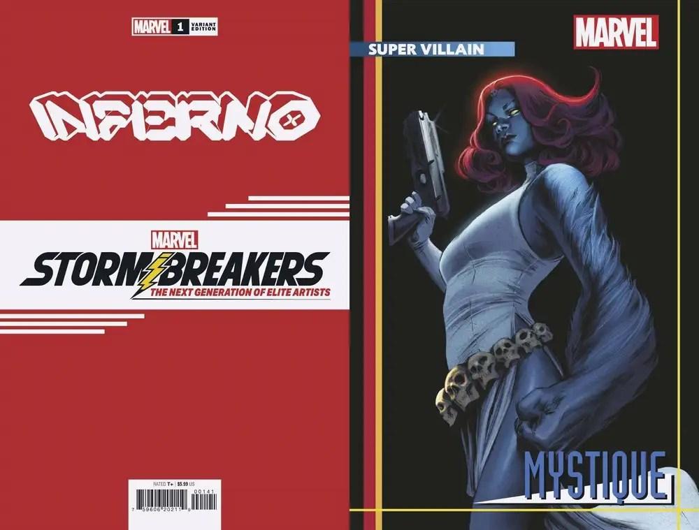JUL210523 ComicList: Marvel Comics New Releases for 09/29/2021