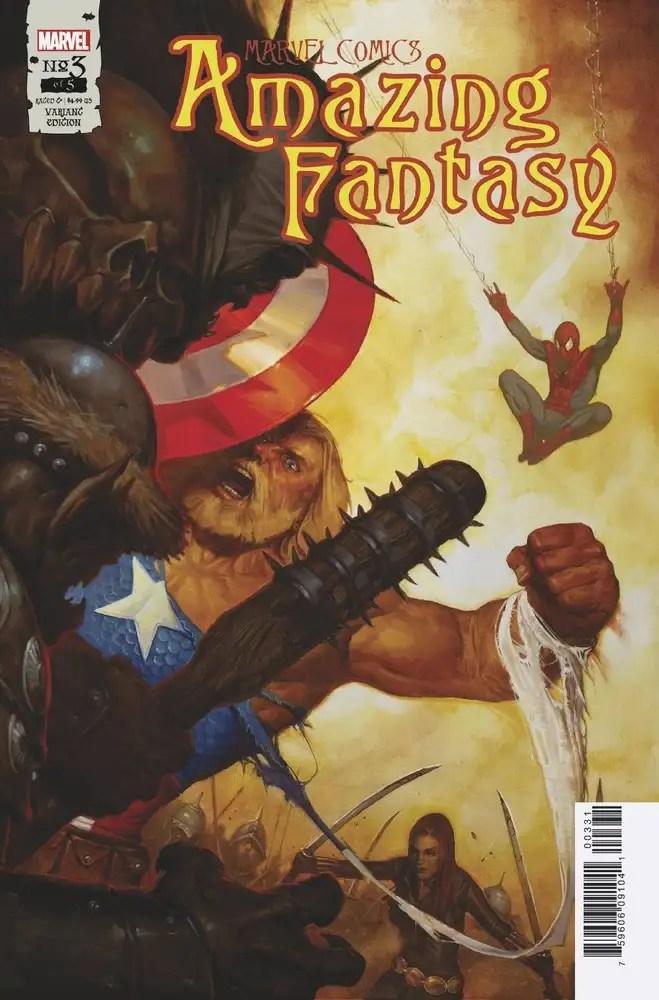 JUL210627 ComicList: Marvel Comics New Releases for 09/29/2021