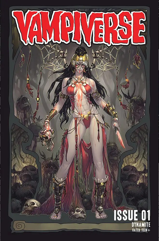 JUL210880 ComicList: Dynamite Entertainment New Releases for 09/15/2021