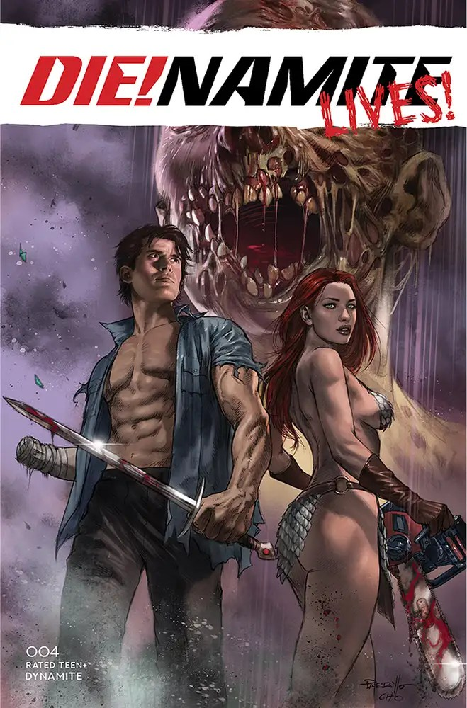 JUL210956 ComicList: Dynamite Entertainment New Releases for 09/22/2021