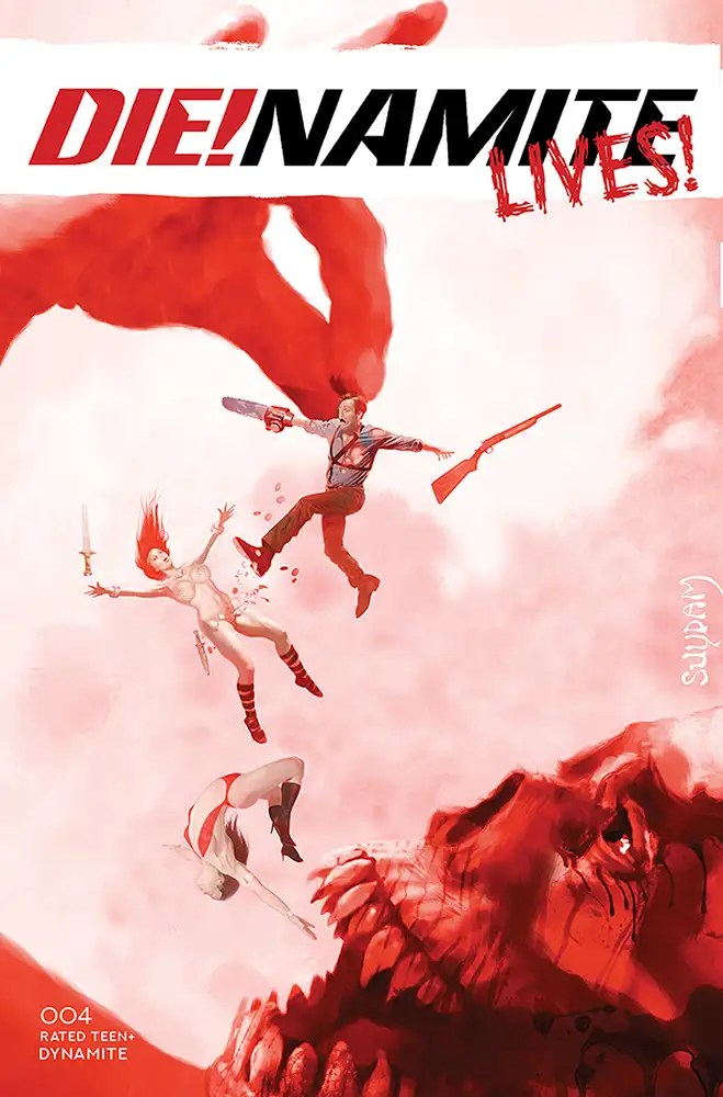JUL210957 ComicList: Dynamite Entertainment New Releases for 09/22/2021