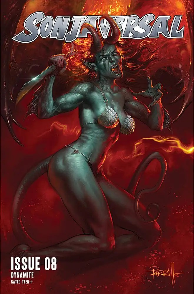 JUL210999 ComicList: Dynamite Entertainment New Releases for 09/29/2021
