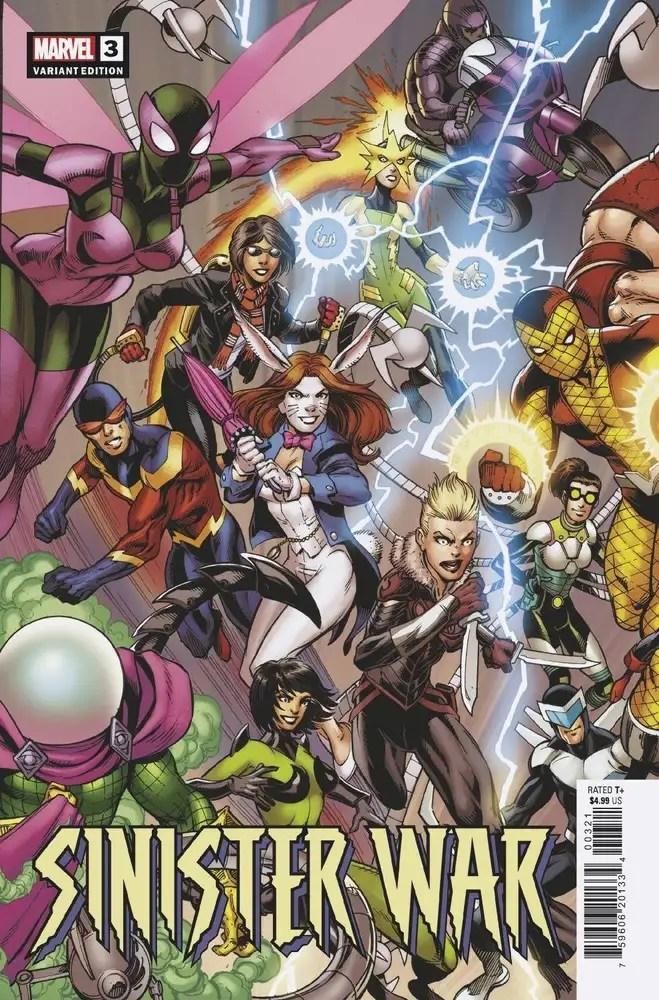 JUN210526 ComicList: Marvel Comics New Releases for 08/18/2021