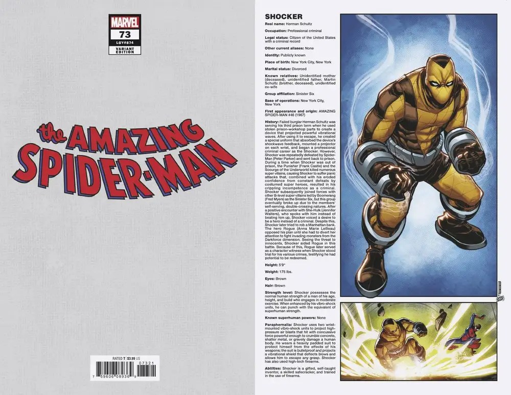 JUN210541 ComicList: Marvel Comics New Releases for 09/08/2021