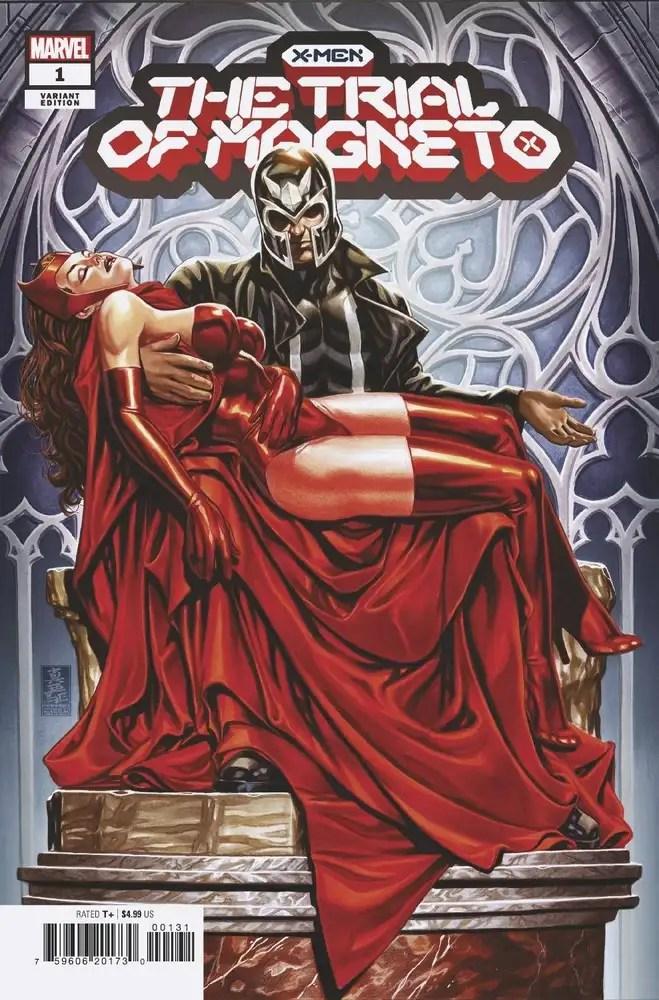 JUN210557 ComicList: Marvel Comics New Releases for 08/18/2021