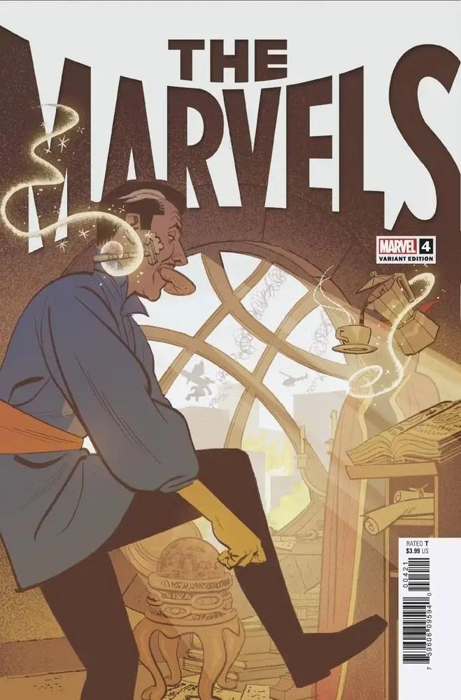 JUN210685 ComicList: Marvel Comics New Releases for 08/18/2021