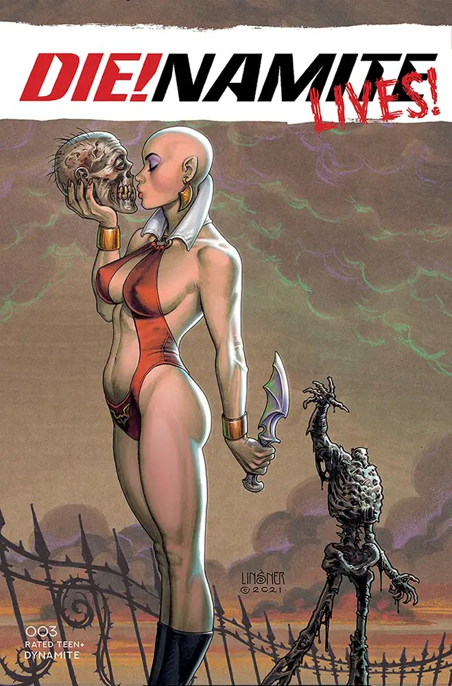 JUN210942 ComicList: Dynamite Entertainment New Releases for 08/18/2021