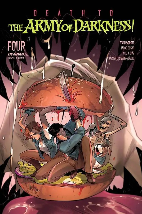 MAR201191 ComicList: Dynamite Entertainment New Releases for 09/09/2020