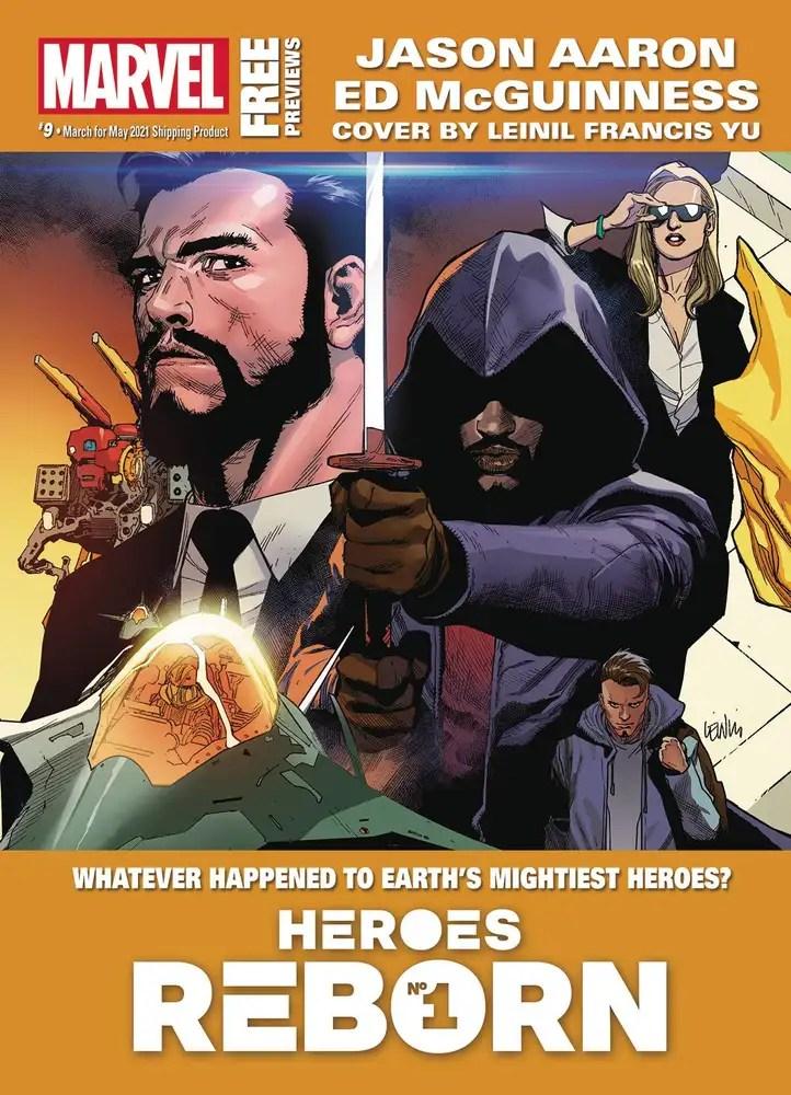 MAR210002 ComicList: Marvel Comics New Releases for 04/28/2021