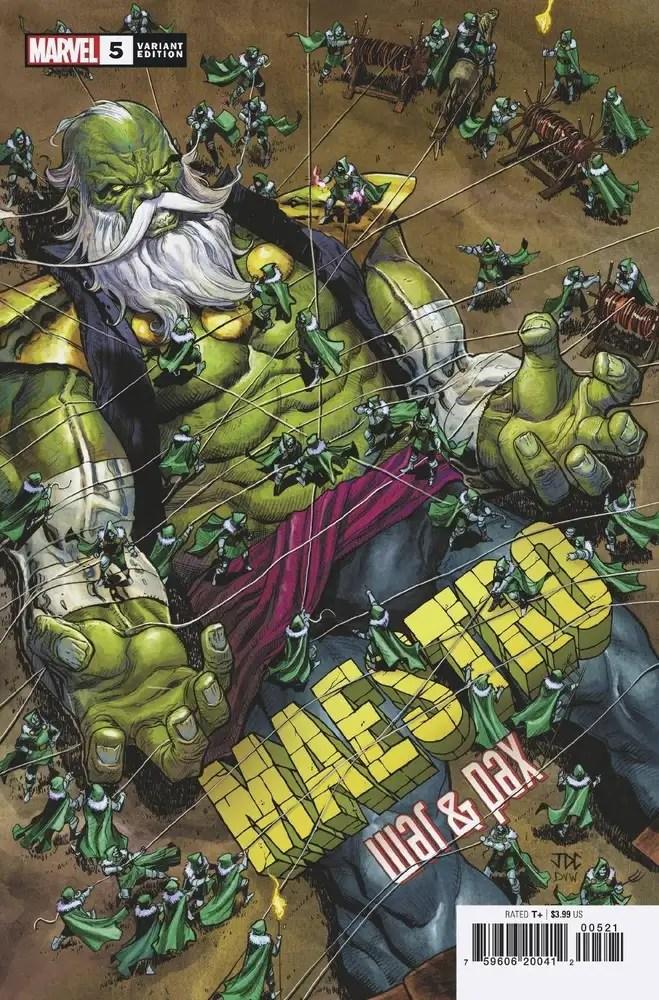 MAR210639 ComicList: Marvel Comics New Releases for 05/26/2021