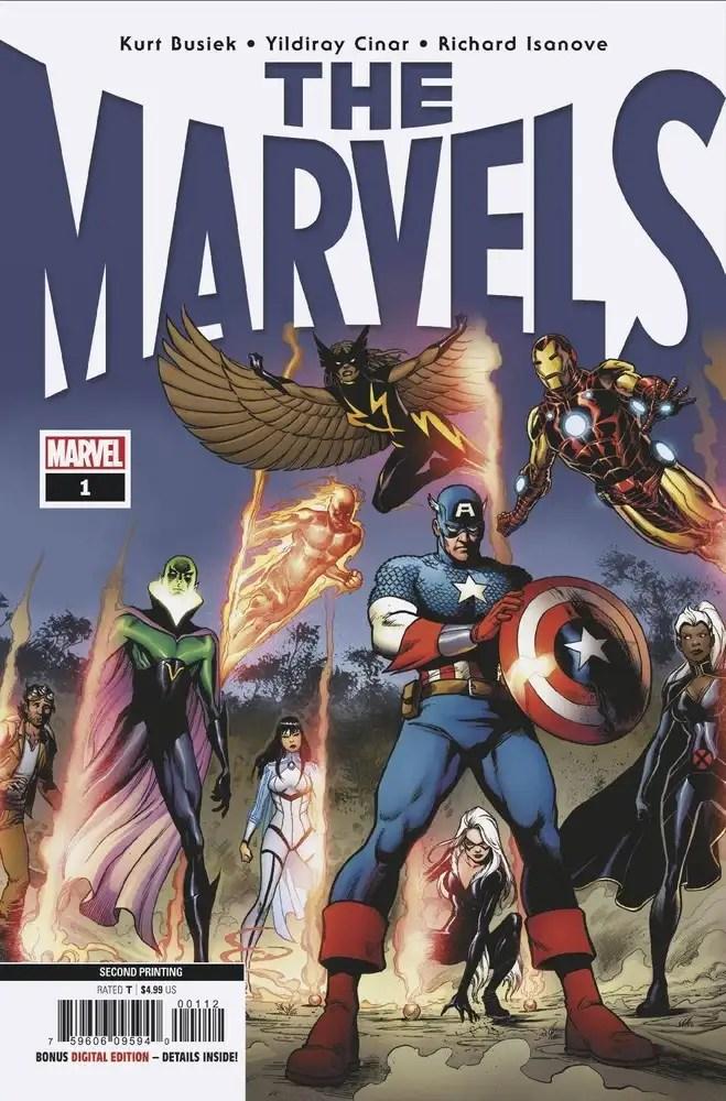 MAR219365 ComicList: Marvel Comics New Releases for 06/09/2021