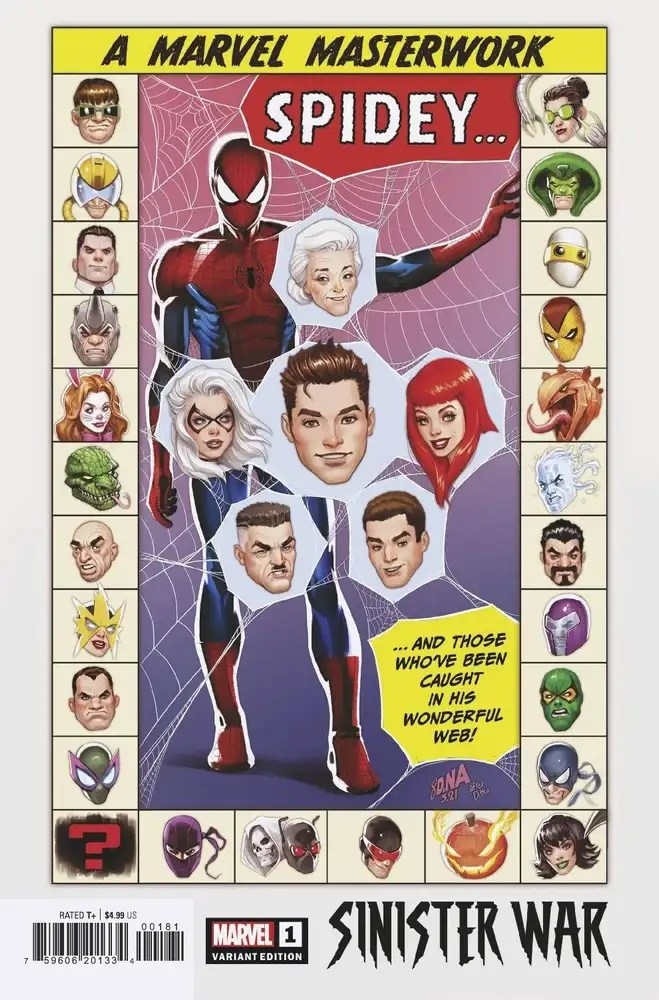 MAY210492 ComicList: Marvel Comics New Releases for 07/14/2021