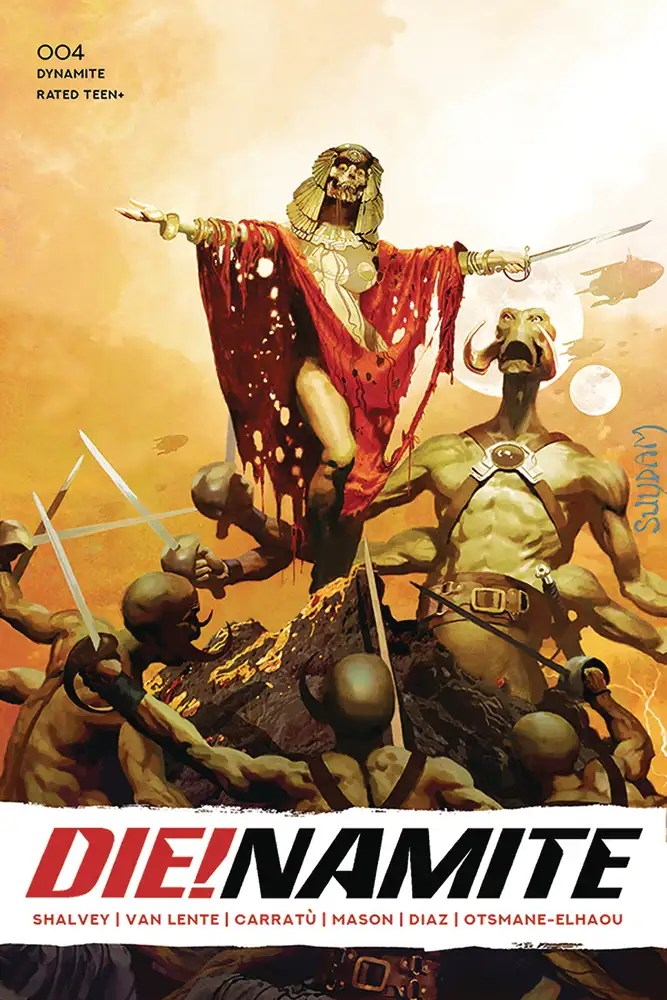 NOV200720 ComicList: Dynamite Entertainment New Releases for 01/27/2021