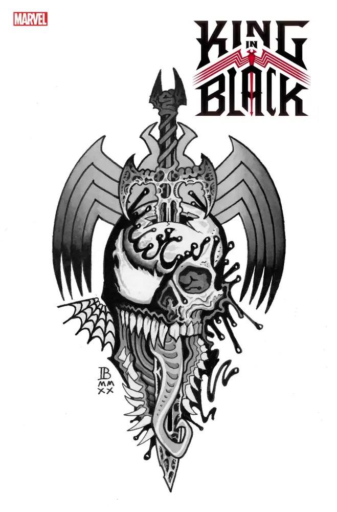 KING IN BLACK TEMPORARY TATTOO 12//02 2020
