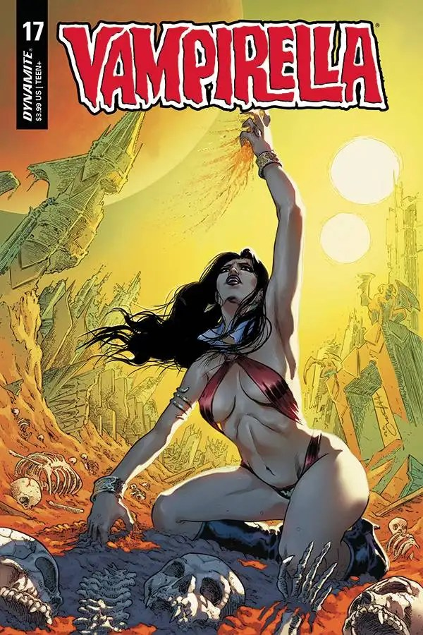OCT200819 ComicList: Dynamite Entertainment New Releases for 02/10/2021