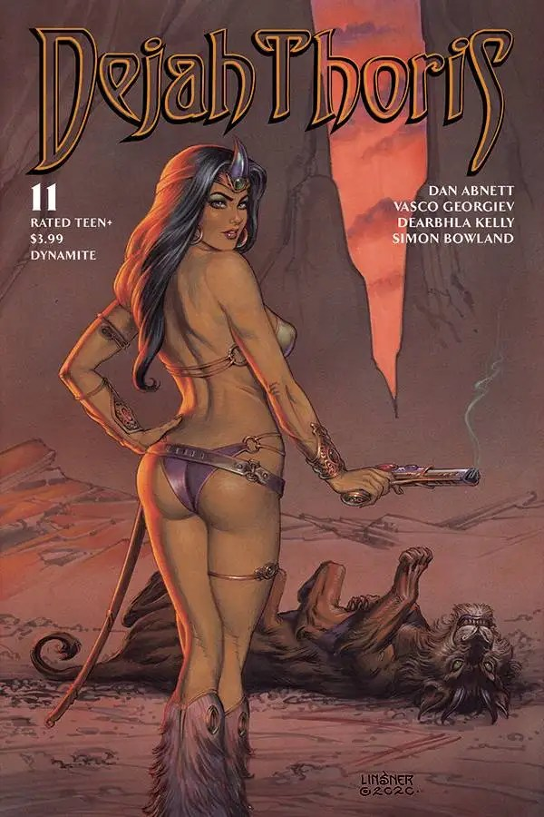 OCT200850 ComicList: Dynamite Entertainment New Releases for 03/24/2021