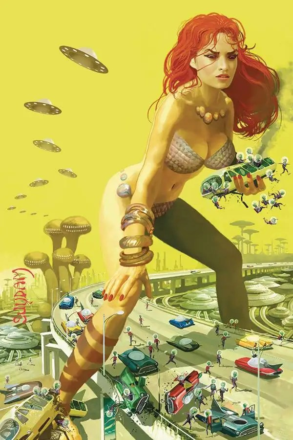 OCT200873 ComicList: Dynamite Entertainment New Releases for 01/06/2021